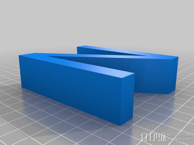 希腊字母 字母模型 3D模型  图25