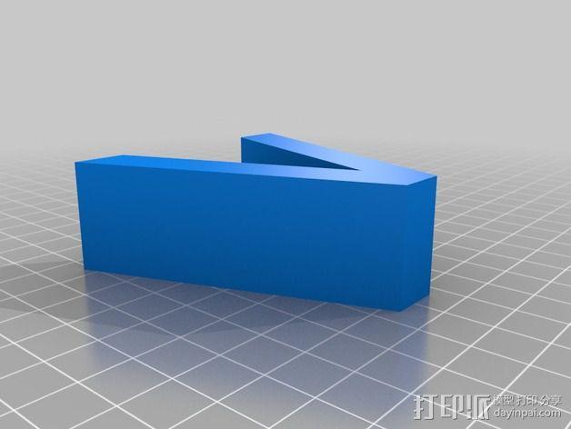 希腊字母 字母模型 3D模型  图26