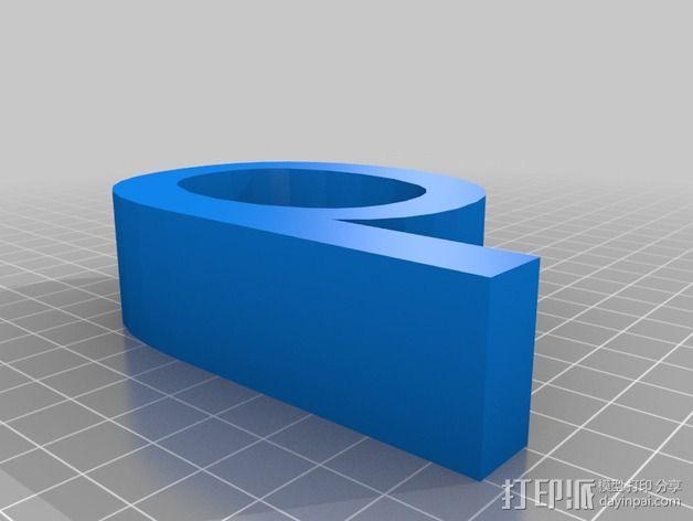 希腊字母 字母模型 3D模型  图33