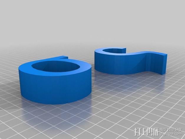希腊字母 字母模型 3D模型  图35