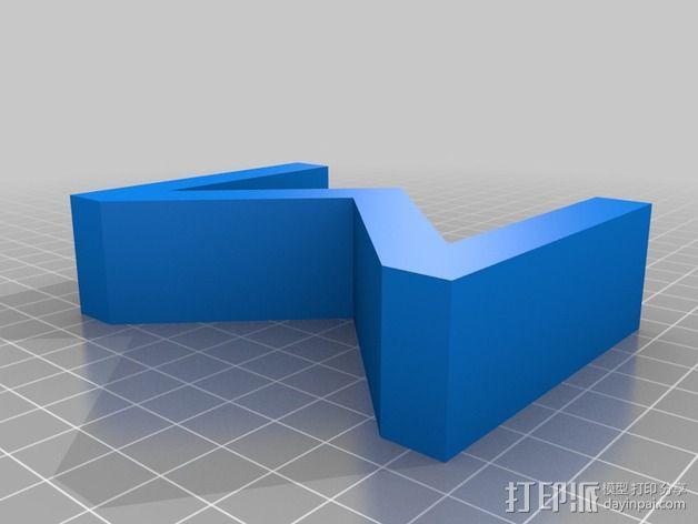希腊字母 字母模型 3D模型  图36