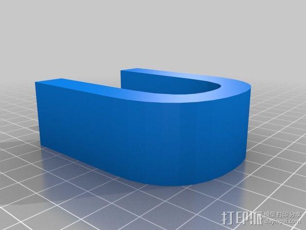 希腊字母 字母模型 3D模型  图40