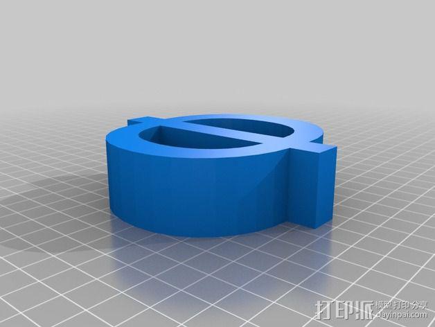 希腊字母 字母模型 3D模型  图41