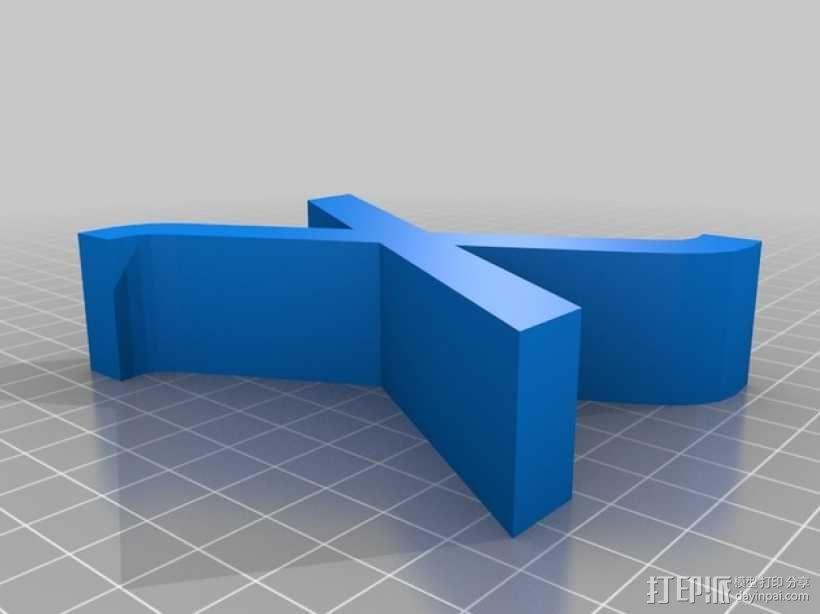 希腊字母 字母模型 3D模型  图44