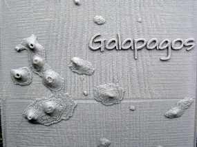 加拉帕戈斯群岛 火山 地形图模型 3D模型