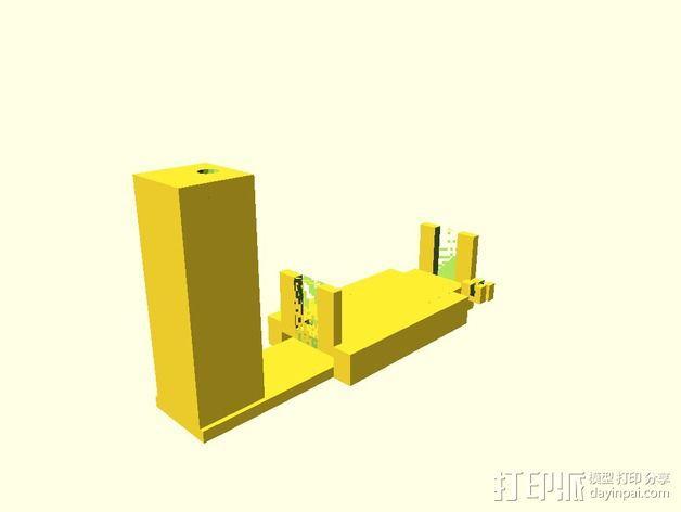 液滴法测角器 3D模型  图3