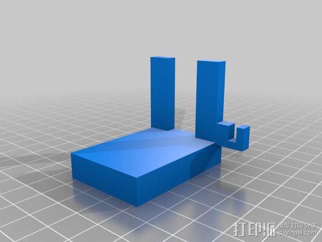 液滴法测角器 3D模型  图4