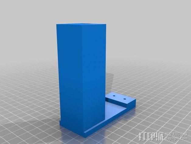 液滴法测角器 3D模型  图5