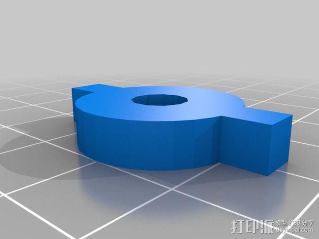 液滴法测角器 3D模型  图8