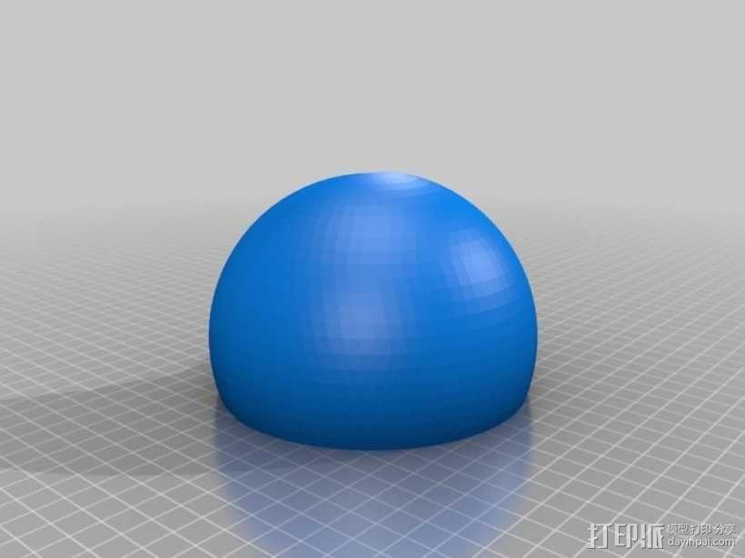 剖面地球模型 3D模型  图5
