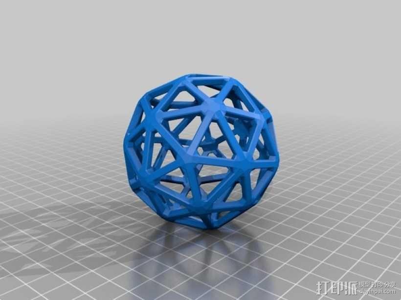 五角化十二面体 3D模型  图2