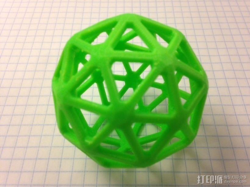 五角化十二面体 3D模型  图1