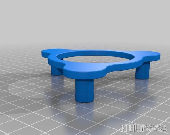 行星齿轮变速器 齿轮箱 3D模型  图6