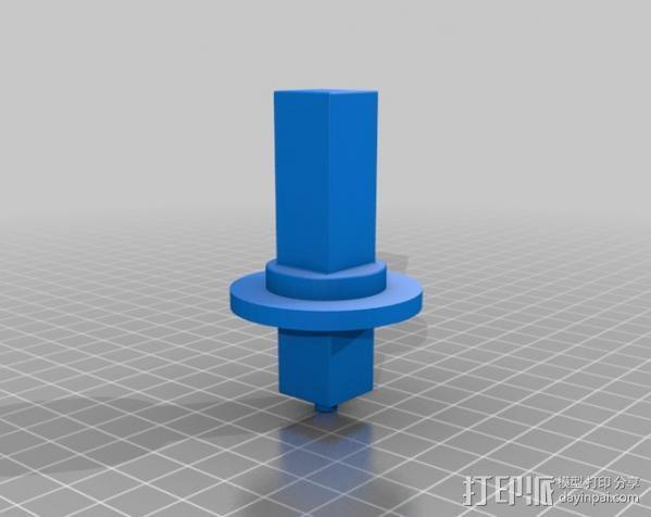 行星齿轮变速器 齿轮箱 3D模型  图7
