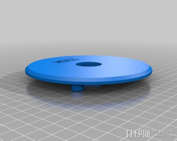 行星齿轮变速器 齿轮箱 3D模型  图9