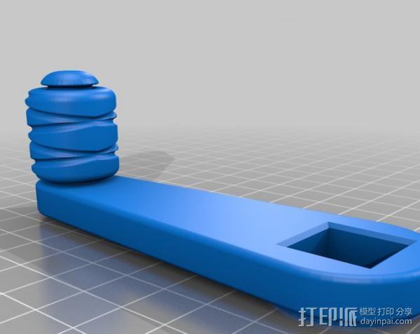 行星齿轮变速器 齿轮箱 3D模型  图13