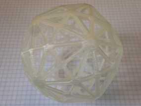 六角化二十面体 3D模型