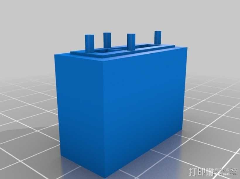 迷你光谱仪 3D模型  图5