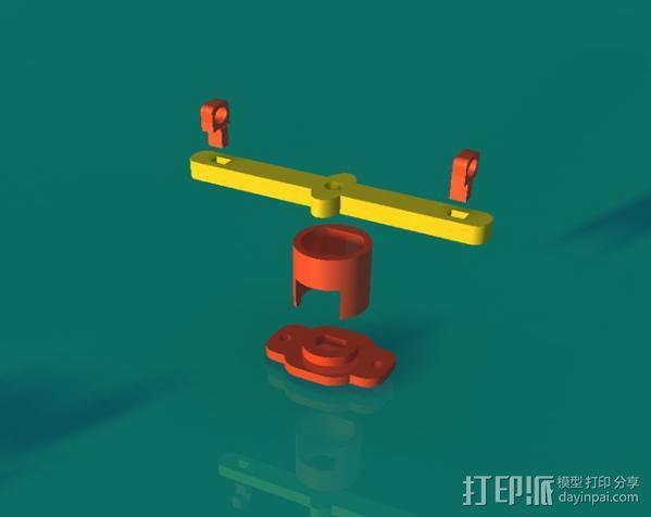血细胞分离器 3D模型  图2