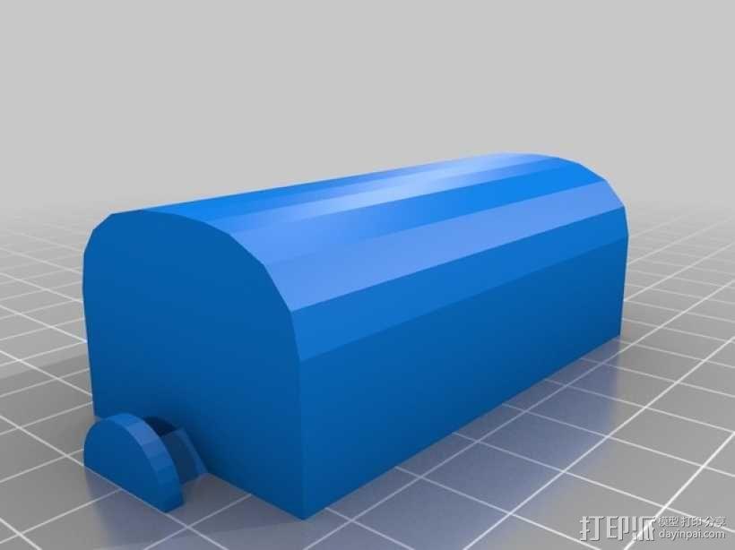 天平标尺 3D模型  图7