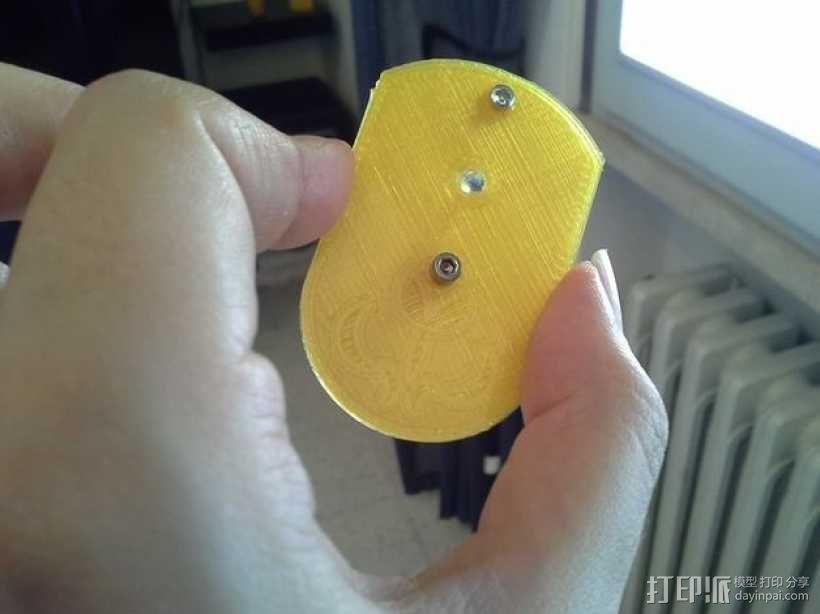 手持型迷你显微镜 3D模型  图3