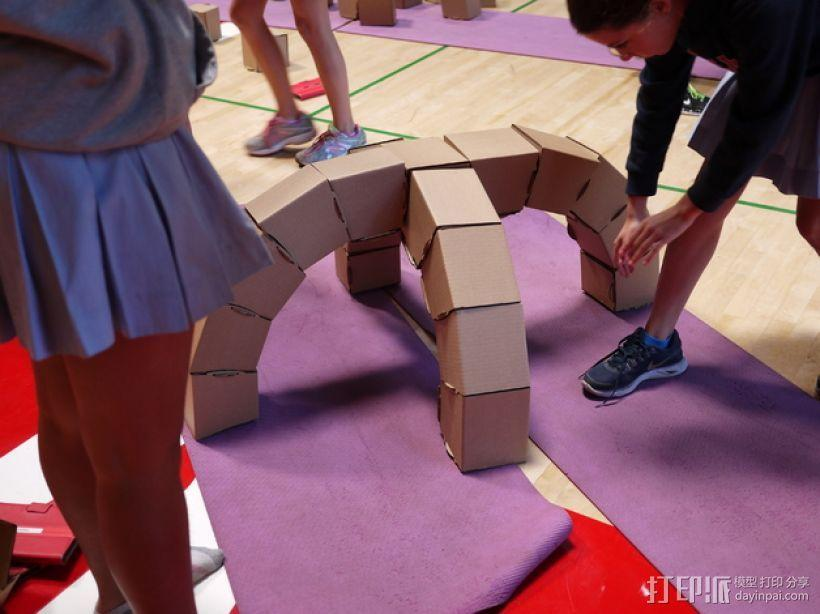 半圆形拱门 3D模型  图4