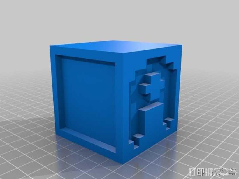 英文字母表 字母方块 3D模型  图2
