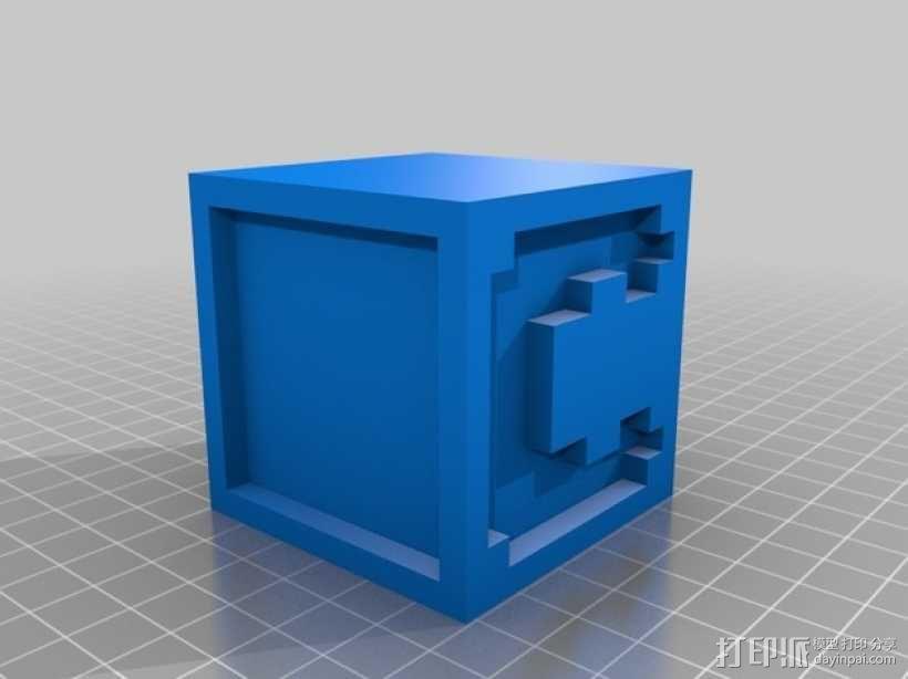 英文字母表 字母方块 3D模型  图4
