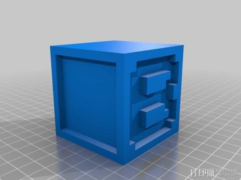 英文字母表 字母方块 3D模型  图3