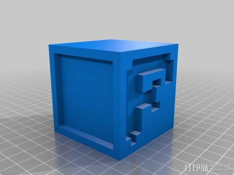 英文字母表 字母方块 3D模型  图7