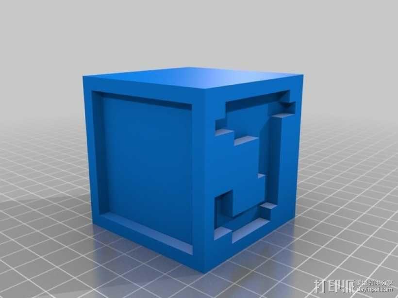 英文字母表 字母方块 3D模型  图11