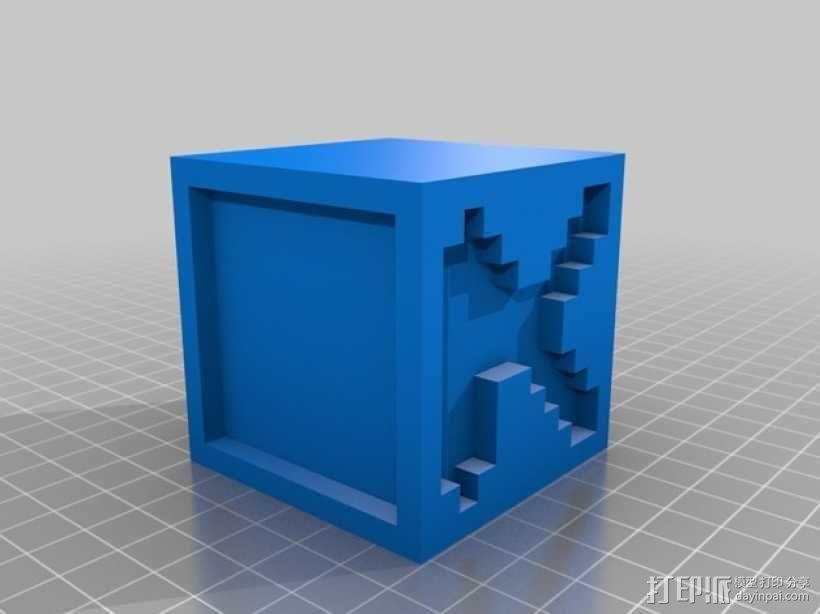 英文字母表 字母方块 3D模型  图12