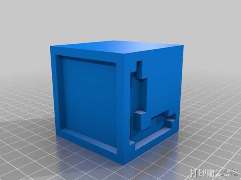 英文字母表 字母方块 3D模型  图13