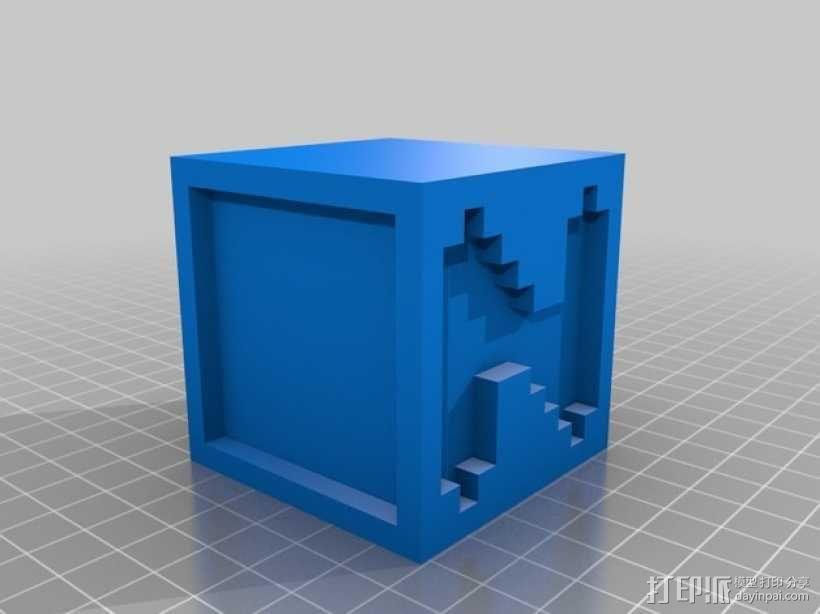 英文字母表 字母方块 3D模型  图15