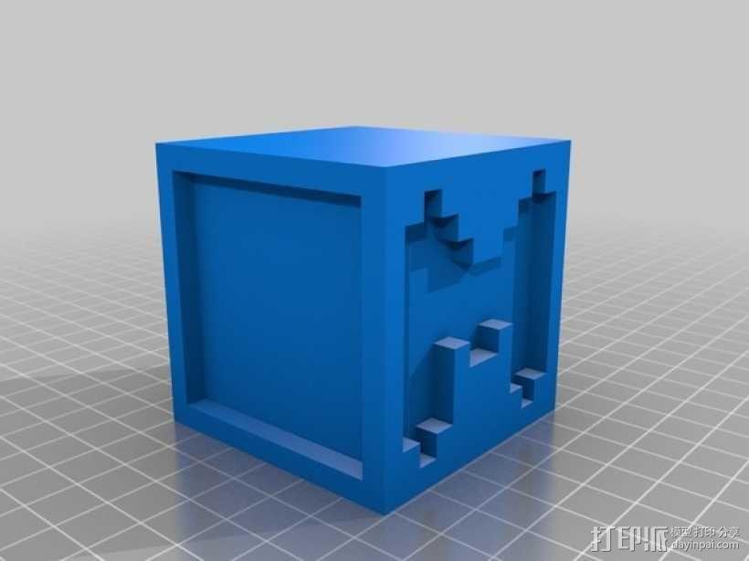 英文字母表 字母方块 3D模型  图14