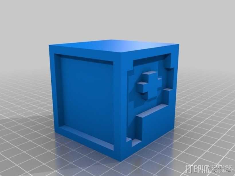 英文字母表 字母方块 3D模型  图17