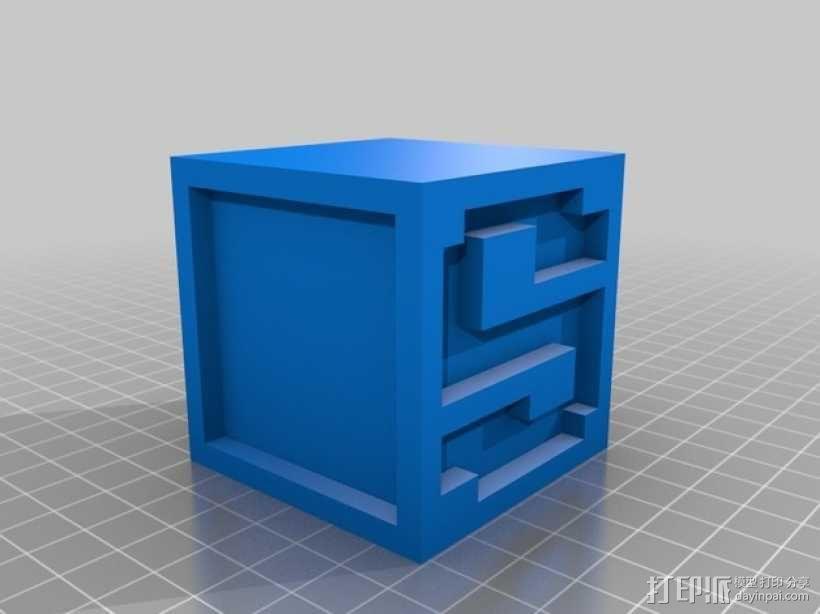 英文字母表 字母方块 3D模型  图20