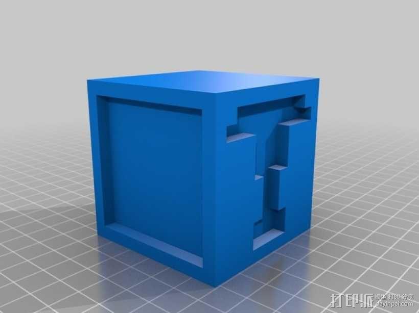 英文字母表 字母方块 3D模型  图21