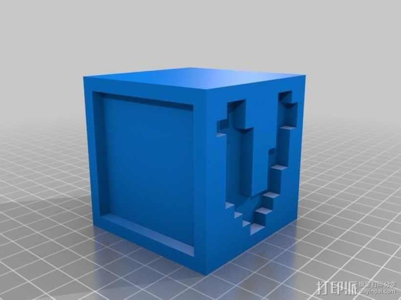 英文字母表 字母方块 3D模型  图23