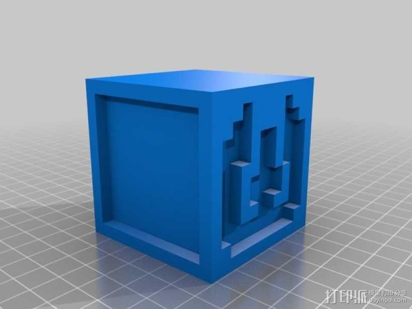 英文字母表 字母方块 3D模型  图24