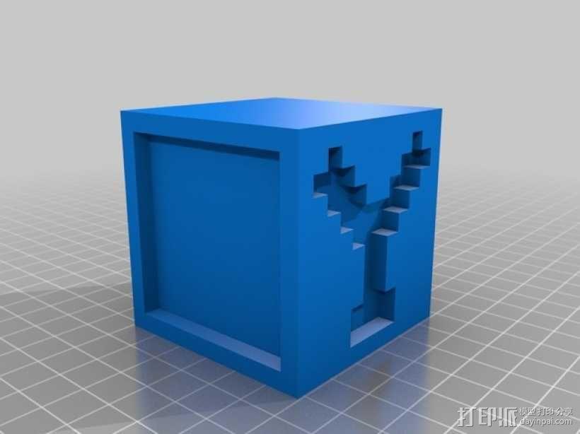 英文字母表 字母方块 3D模型  图26