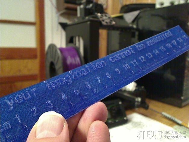 文具盒 尺子 铅笔头 3D模型  图3
