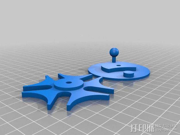 文具盒 尺子 铅笔头 3D模型  图4