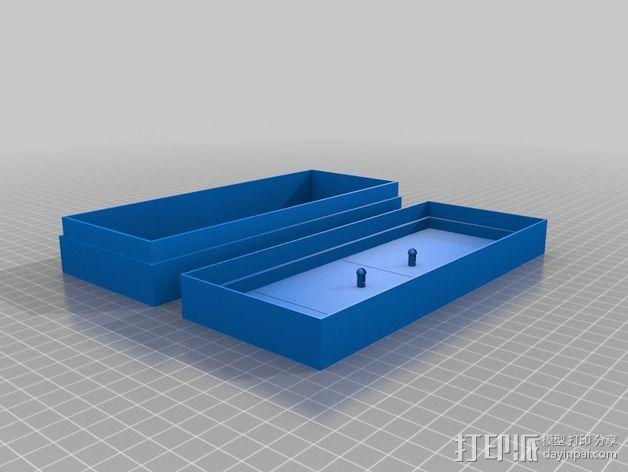 文具盒 尺子 铅笔头 3D模型  图6