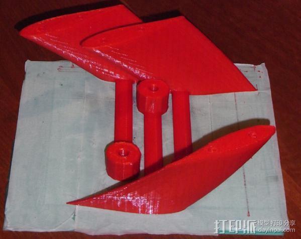 立式涡轮机 3D模型  图3