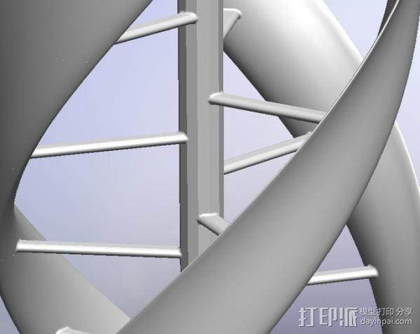 立式涡轮机 3D模型  图5