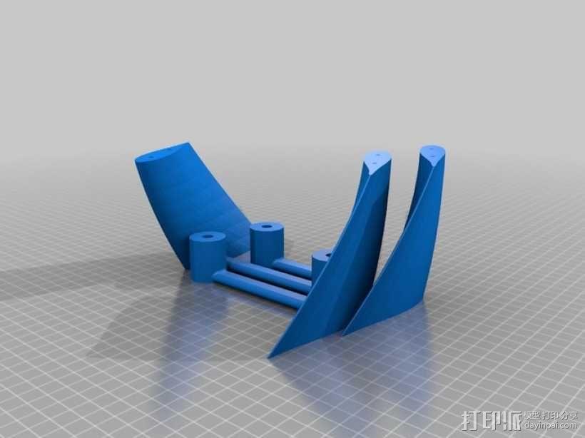 立式涡轮机 3D模型  图8
