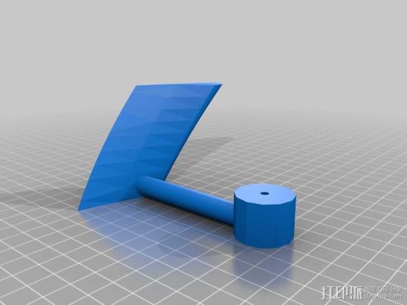 立式涡轮机 3D模型  图10
