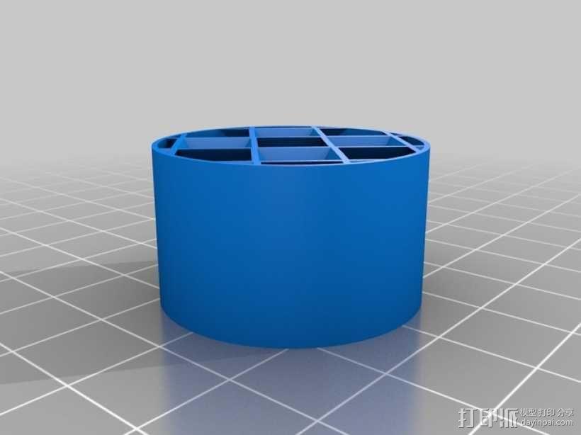 镂空圆柱体 3D模型  图6