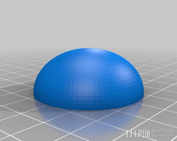 镂空圆柱体 3D模型  图5